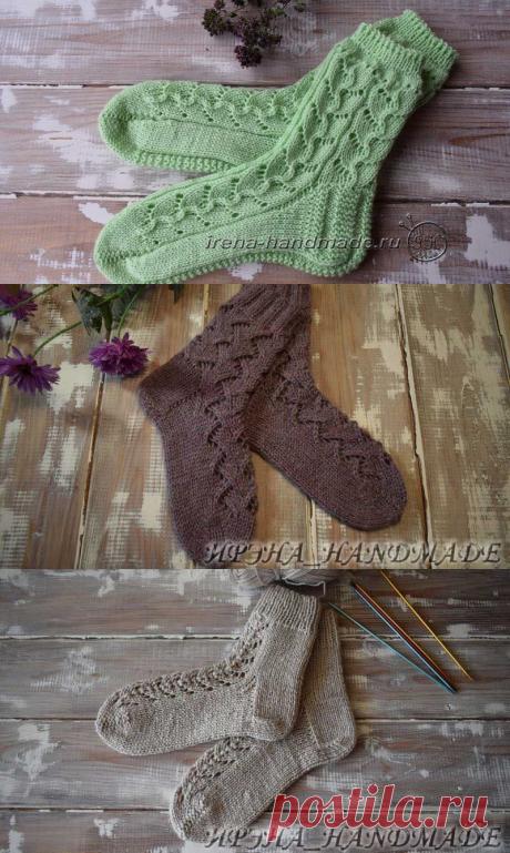 Носки (вязание, схемы и фото) 4 - Irena Handmade