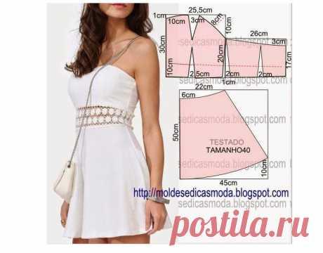 Коллекция платьев на любой случай: простые и эффектные платья с выкройками — Мир интересного