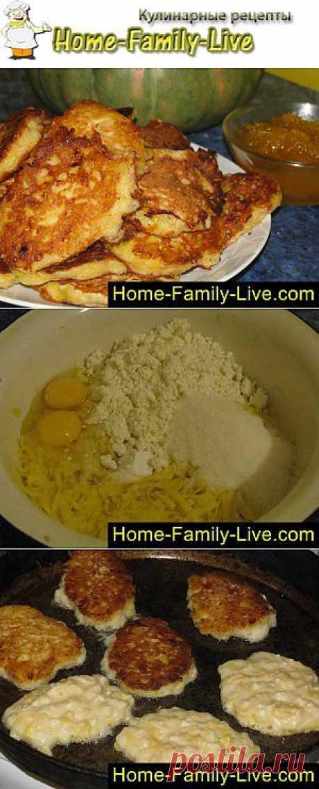 Оладьи из тыквы - пошаговый фоторецепт - тыквенные оладьи на завтрак | Кулинарные рецепты