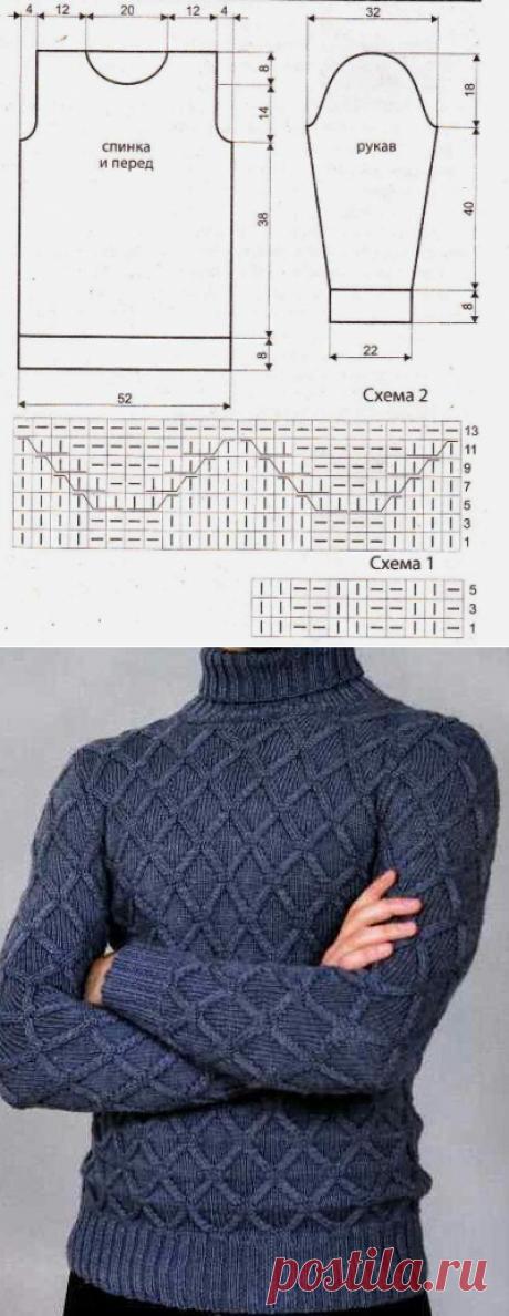 Теплый вязаный свитер для любимых | Эфария