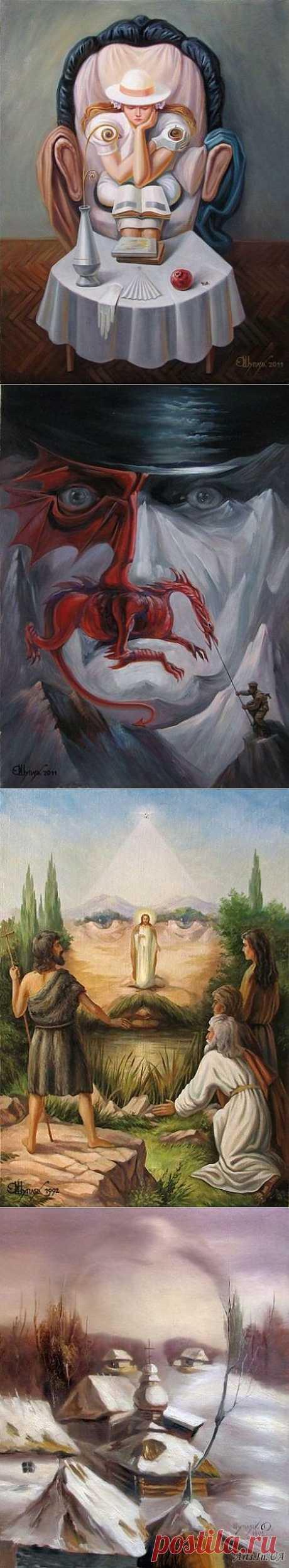 Картины-иллюзии » Дуделка - Интересные новости и фото
