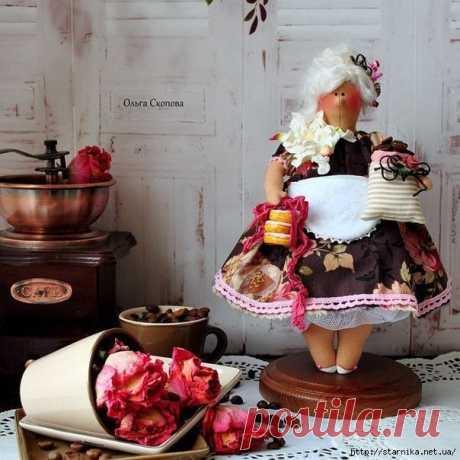Куклы-толстушки в стиле Тильда