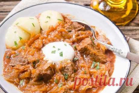 Ленивое мясо с квашеной капустой по-немецки рецепт – европейская кухня: основные блюда. «Еда»