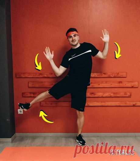 Как подтянуть живот без прыжков и планок - показываю 5 простых упражнений стоя | FIT FOR LIFE | Яндекс Дзен