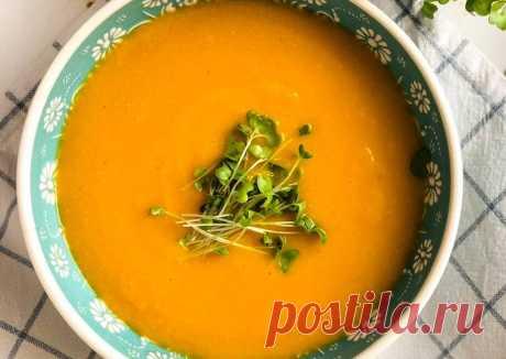 Vegan soup Морковно-чечевичный суп - пошаговый рецепт с фото. Автор рецепта Elen Health . - Cookpad