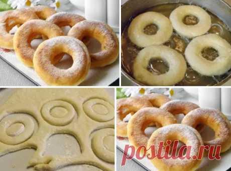 Пончики на кефире за 15 минут Пончики на кефире за 15 минут Ингредиенты: Кефир — 200 Миллилитров (самоквас) Сахар — 4 Ст. ложки Яйцо — 1 Штука Ванилин — 1 Щепотка Сливочное масло — 50