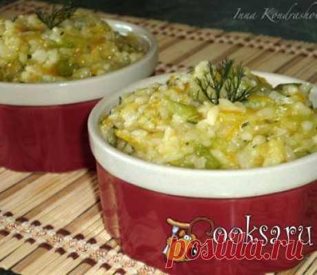 Рагу из кабачков с рисом фото рецепт приготовления