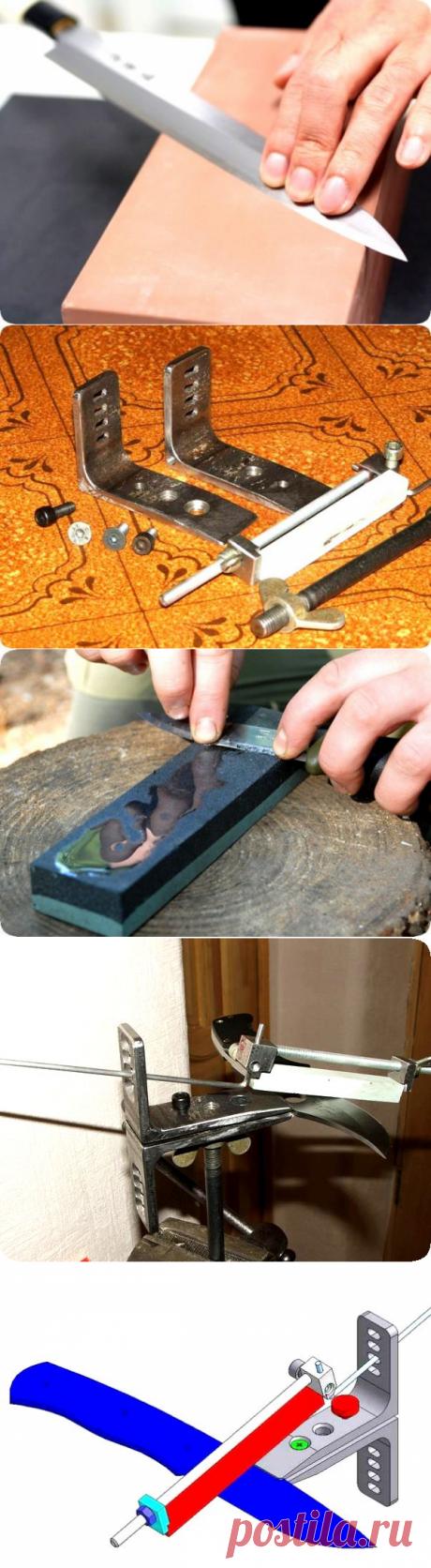 Приспособление для заточки ножей своими руками