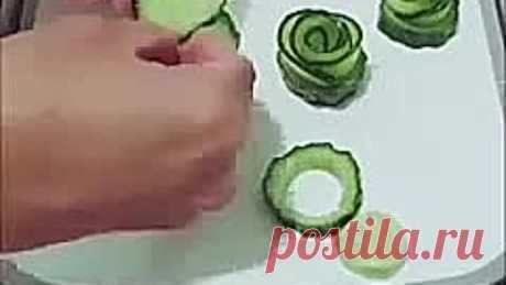 Шикарная нарезка овощей и фруктов!💥 Точно пригодится!👌