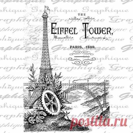 Монохромный french vintage - декупажные карты