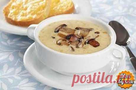 Грибной суп с сыром.                                  ☕➩➩➩...Показать Полностью.