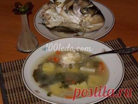 Рецепт рыбного супа из головы толстолобика - Суп рыбный, с морепродуктами от 1001 ЕДА