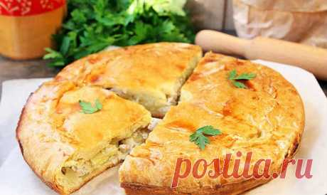 Узбекский курник   готовим вкусно   Яндекс Дзен
