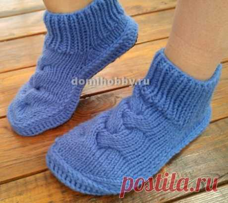 Тапочки - носки на подошве