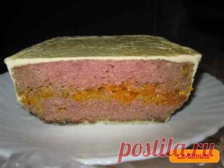 Печень «по-царски» — запеканка с печенью и овощами в духовке