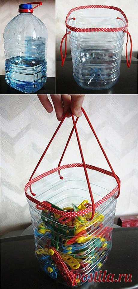 Bucket for clothespegs