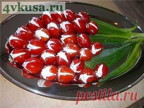 Съедобные тюльпаны | 4vkusa.ru