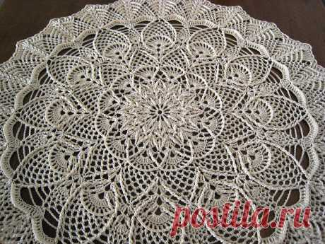 Ravelry: Extravagant doily pattern by Mary Werst