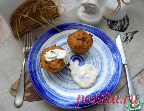 Закусочные чечевичные кексы – кулинарный рецепт
