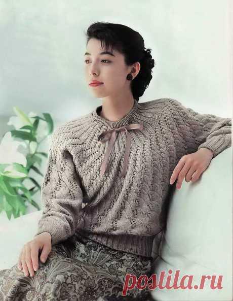 кофточка ретро кимоно спицами поперечным вязанием: 11 тыс изображений найдено в Яндекс.Картинках