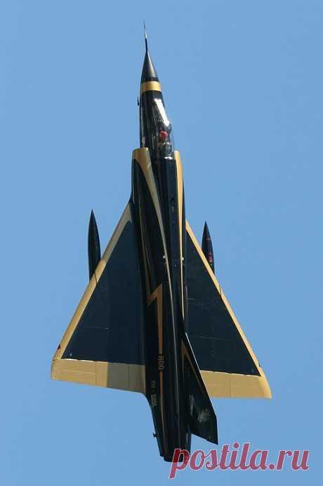 "dannikingg:\u000a\""Dassault Mirage 3CZ \""Black Widow\""\""\u000aWhat a beautiful paint job!"