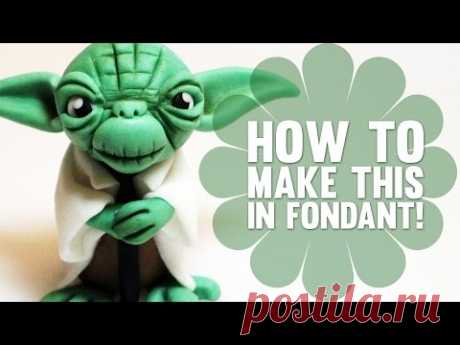 How to Make Yoda from Star Wars - Cake Decorating Tutorial