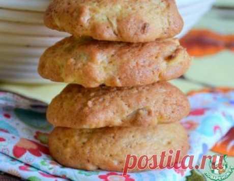 Яблочно-ореховое печенье - кулинарный рецепт