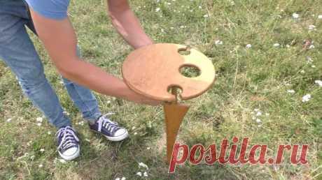 Как из фанеры сделать столик для отдыха на природе В данном обзоре автор предлагает классную идею — как сделать складной столик для отдыха на природе. Его без проблем можно положить в багажник автомобиля и