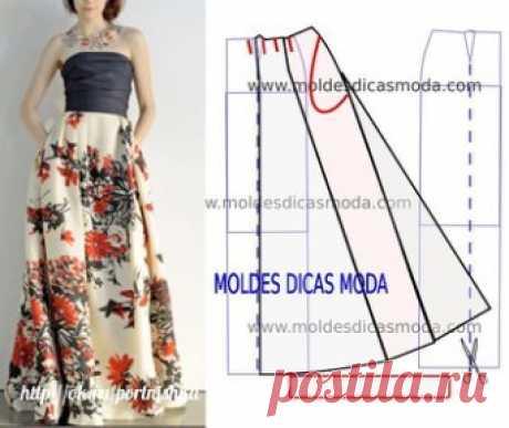 Summer skirts in a floor!\u000d\u000a#выкройка_юбки #легкий_крой of #шитье #кройкаишитье of #portnishka #моделирование_одежды