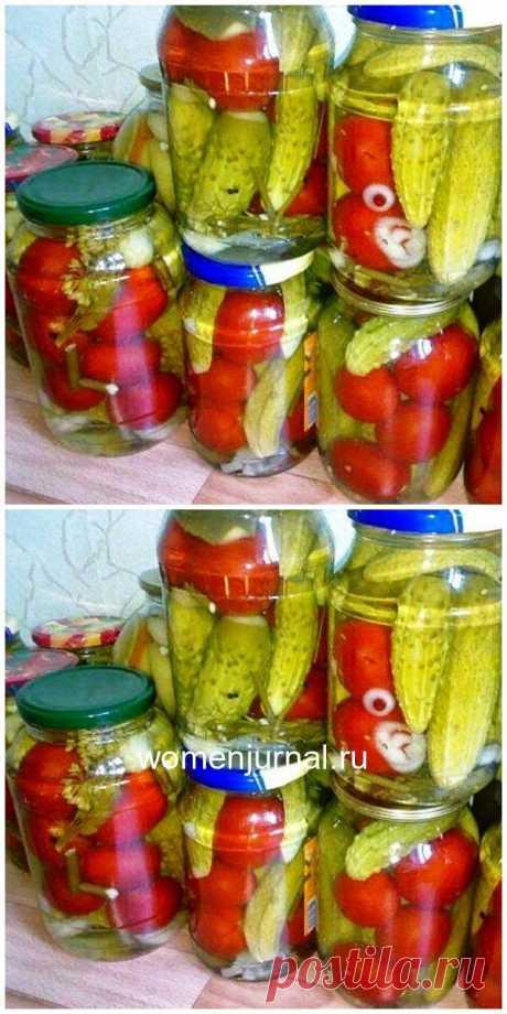 Маринад для овощного ассорти - Женский Журнал