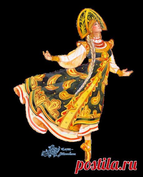 Клипарт - Русские ремесла - Балет: мои вырезки. Часть 1.