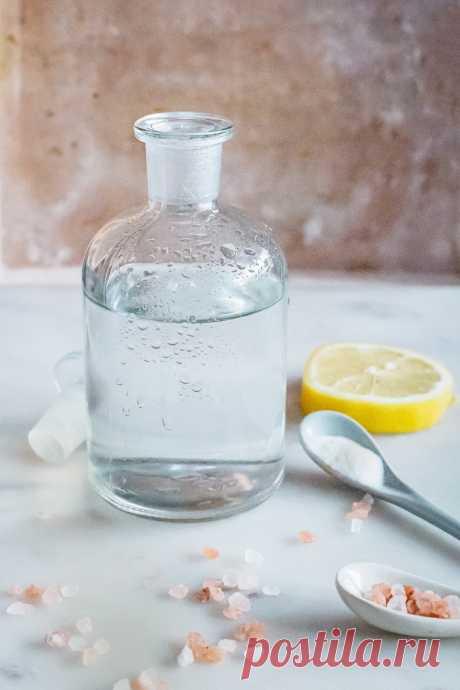 Эликсир здоровья: Как приготовить щелочную воду