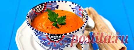 Морковно-картофельный суп-пюре (постный)