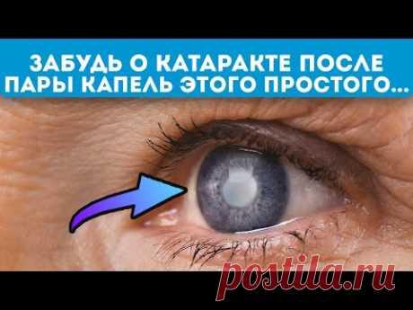 Окулисту лишь бы сделать операцию! Вот эти народные средства помогут при катаракте