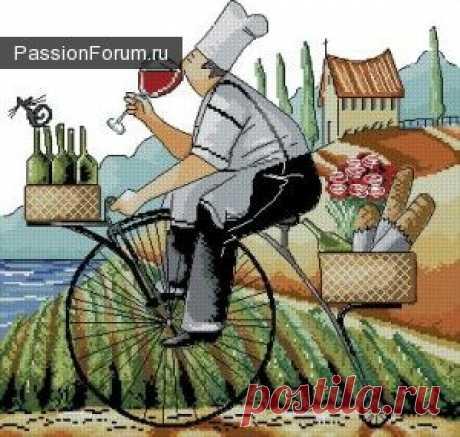 дегустатор ))) / Вышивка крестиком / PassionForum - мастер-классы по рукоделию