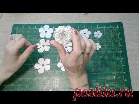 МК цветы ручной работы №1
