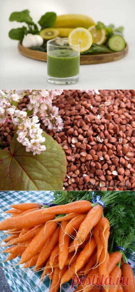 Чудо-еда: 15 щелочных продуктов, спасающих от лишнего веса, инфаркта и даже рака
