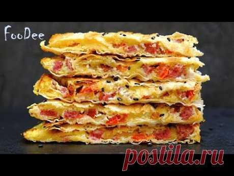 Вкуснятина на ЗАВТРАК за 15 минут – Быстрый и вкусный рецепт из лаваша - запись пользователя FooDee (foodee2018) в сообществе Кулинария в категории Меню на каждый день - Babyblog.ru