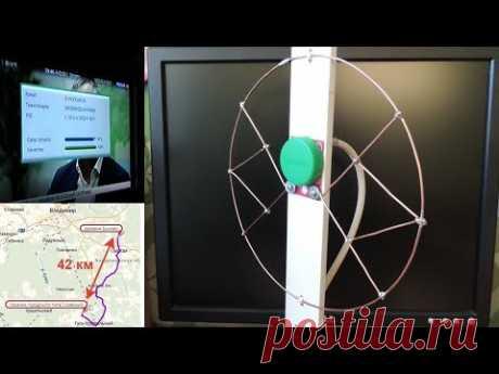 Работает 📺 сразу, без настройки. Простая ТВ антенна, цифровой сигнал DVB-T2.