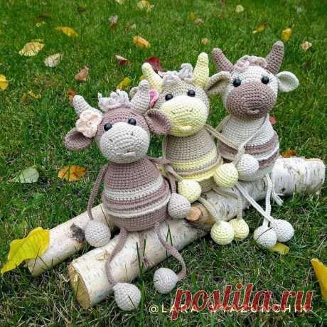 Забавная коровушка схема амигуруми | Hi Amigurumi