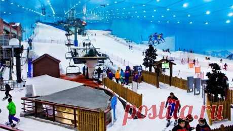 Ски Дубай Ски-Дубай (Ski Dubai) — это крытый горнолыжный комплекс в ОАЭ. В городе Дубай, в огромном торговом центре Moll of the Emirates,...