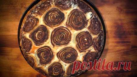 Шоколадный пирог «Черепашка»