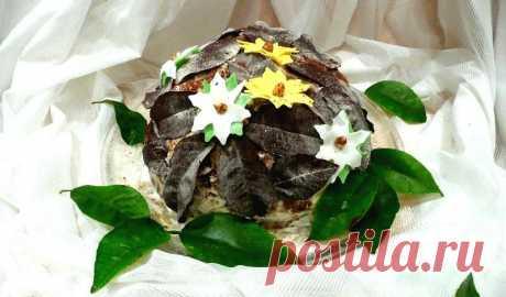 Торт Опавшие листья рецепт с фото пошагово - 1000.menu