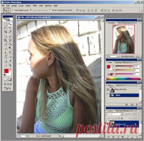 Как создать watermark - Вязание Крючком. Блог Настика