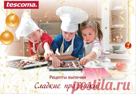 Рецепты в формочках  для печенья и пряников от фирмы Тескома