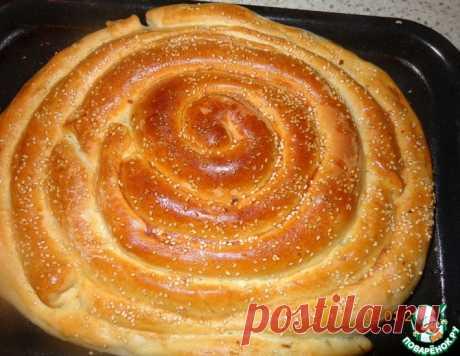 "Пирог-улитка ""3 начинки"" – кулинарный рецепт"
