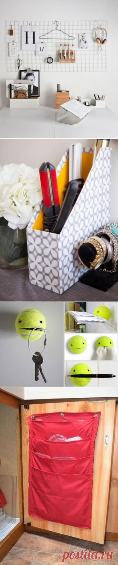 Las ideas interesantes el almacenaje de las bagatelas — los consejos Útiles