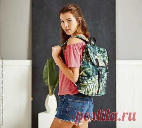 Рюкзак #выкройка #сумка #рюкзак