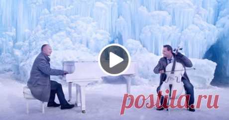 Это шикарно! «Let It Go» из м/ф «Холодное сердце» в сочетании с «Зимой» Вивальди.