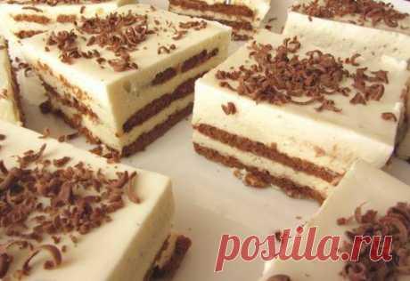 Обалденный торт, за 20 минут, без выпечки! Я его делаю каждую неделю! Торт из печенья без выпечки, с нежным творожным кремом